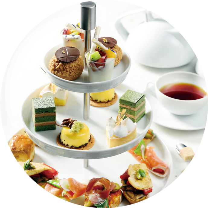 Afternoon Tea - selection of featured patisserie and bites