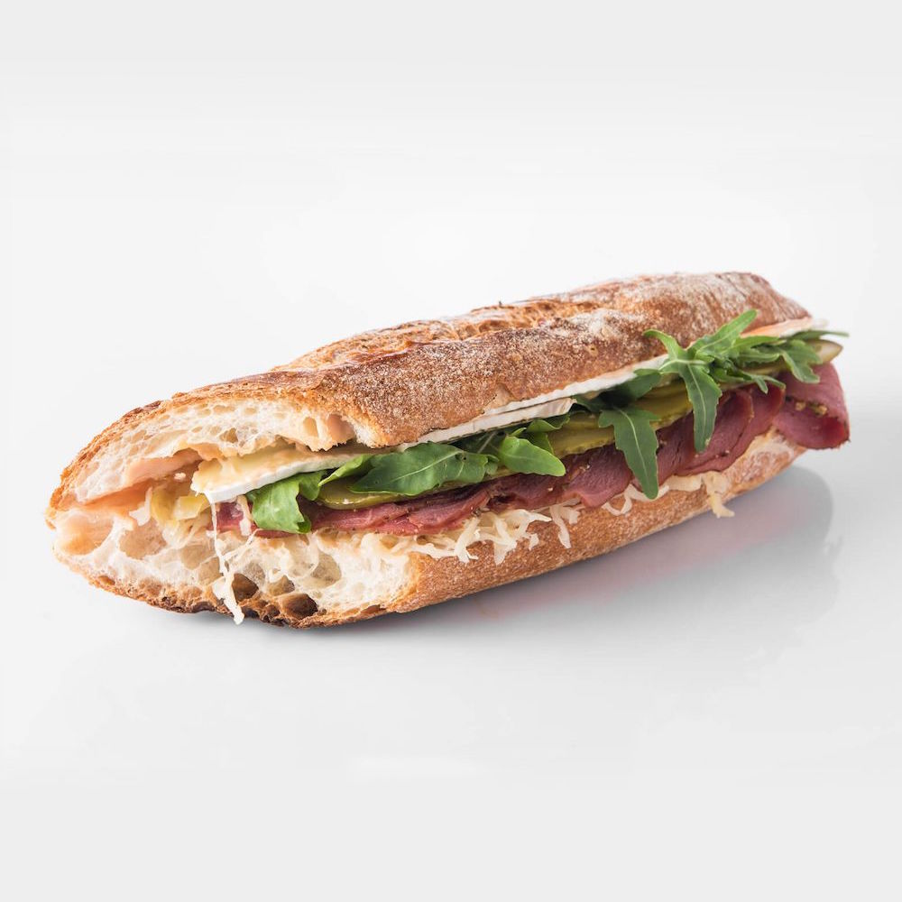Sandwiches - made to order with fresh-baked baguette